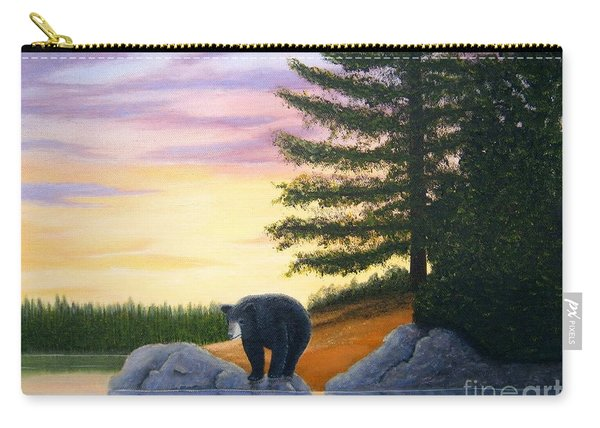 Sunset Bear Carry-all Pouch