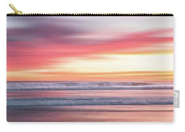 Sunset Blur - Pink Carry-all Pouch