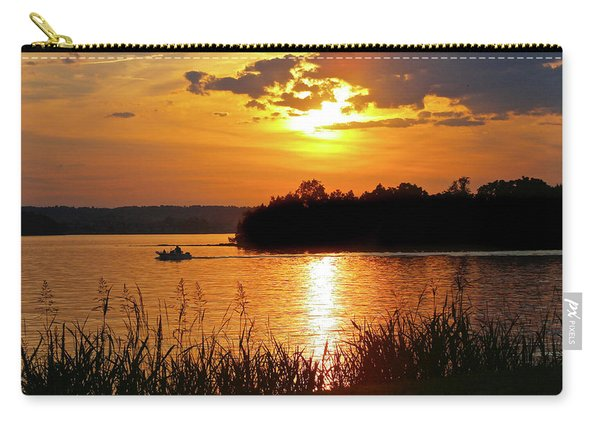 Sunset Boater, Smith Mountain Lake Carry-all Pouch