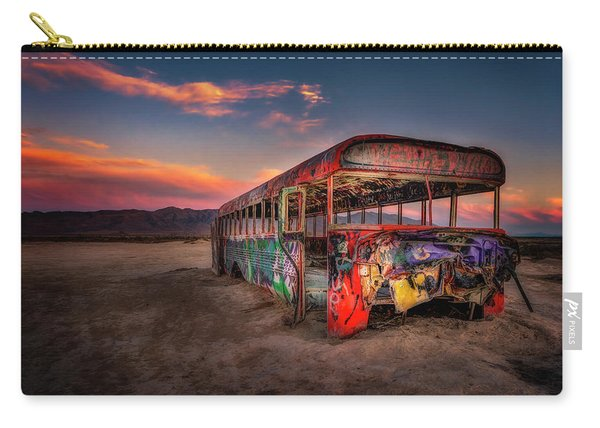 Sunset Bus Tour Carry-all Pouch