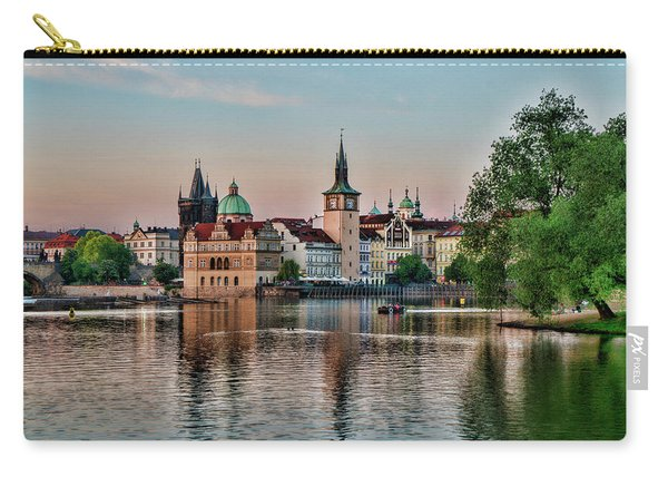 Sunset Cruise Prague Carry-all Pouch