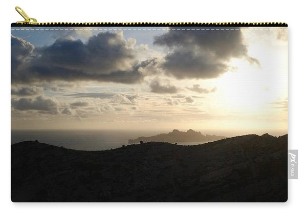 Sunset Dragon Island Carry-all Pouch