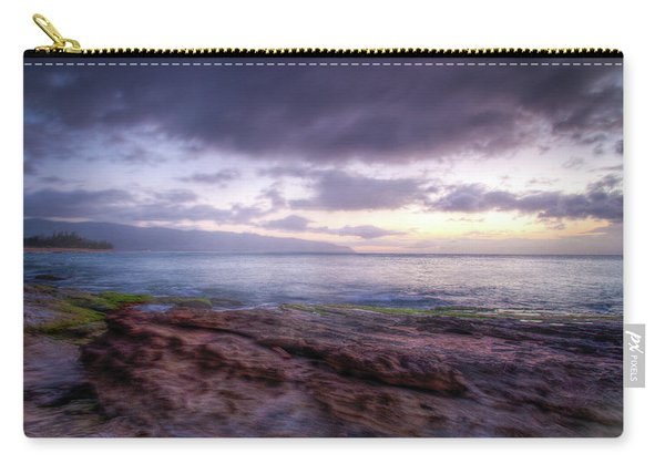 Carry-all Pouch featuring the photograph Sunset Dream by Break The Silhouette