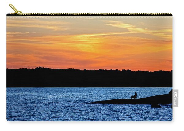 Sunset Fisherman  Carry-all Pouch