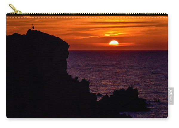 Sunset From Costa Paradiso Carry-all Pouch