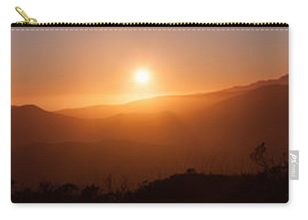 Sunset From Marine Headlands San Francisco Carry-all Pouch