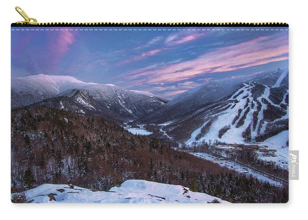 Sunset Glow Over Cannon Mountain Carry-all Pouch