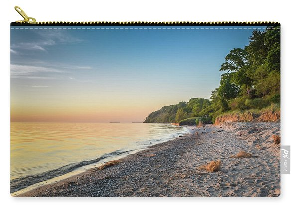Sunset Glow Over Lake Carry-all Pouch