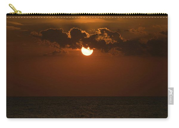 Sunset Gold Cloud Venice Florida Carry-all Pouch