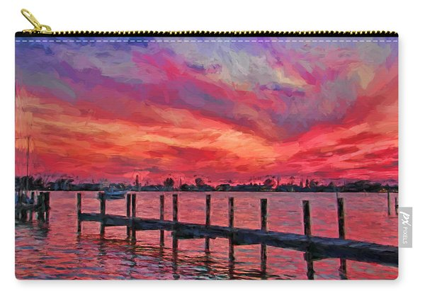 Sunset Impressionism Carry-all Pouch
