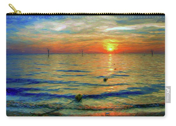 Sunset Impressions Carry-all Pouch