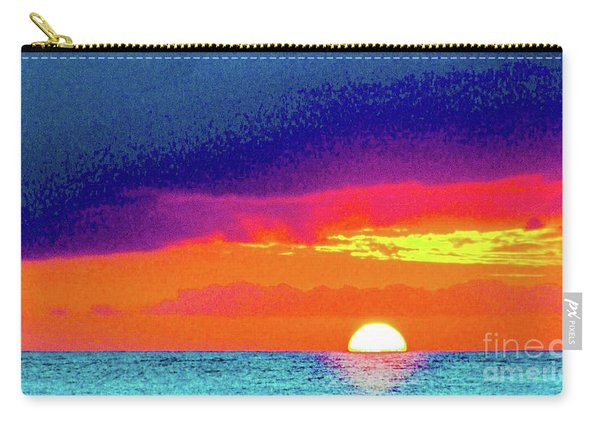 Sunset In Abstract  Carry-all Pouch