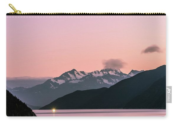 Sunset In Alaska Carry-all Pouch