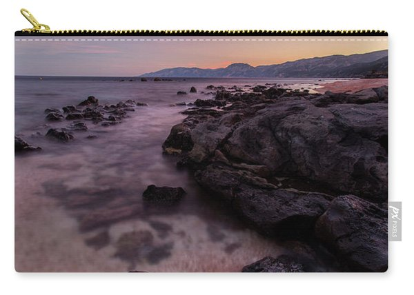 Sunset In Cala Gonone Carry-all Pouch