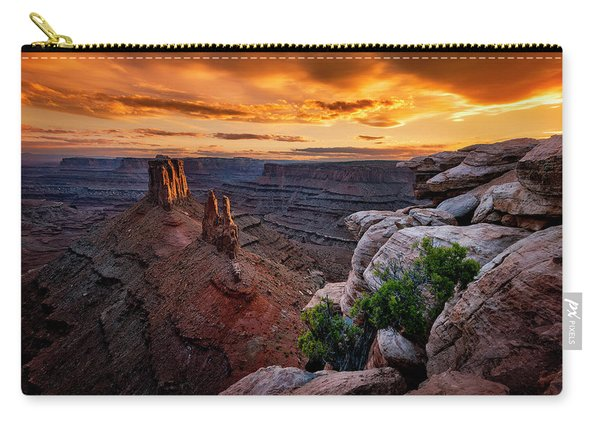 Sunset In Canyonlands Carry-all Pouch