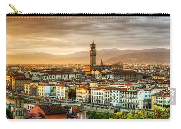 Sunset In Florence Carry-all Pouch