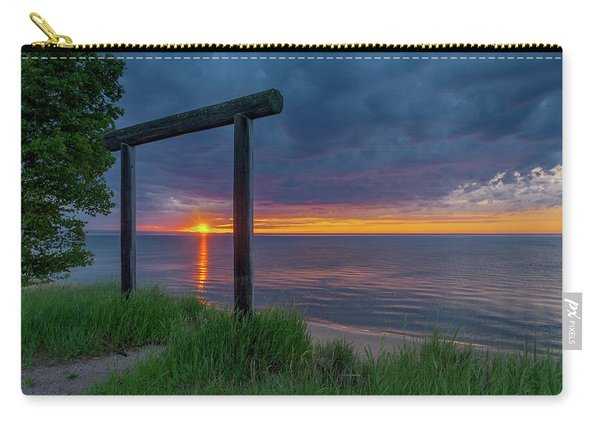 Sunset In Marquette Carry-all Pouch