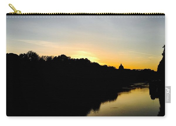Sunset In Rome Carry-all Pouch
