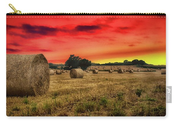 Sunset In The Hay Carry-all Pouch