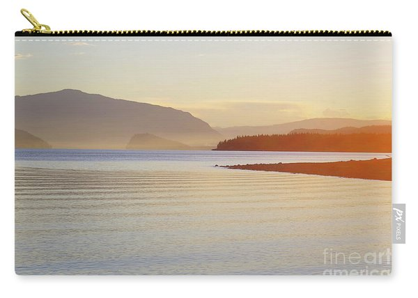 Sunset In The Mist Carry-all Pouch