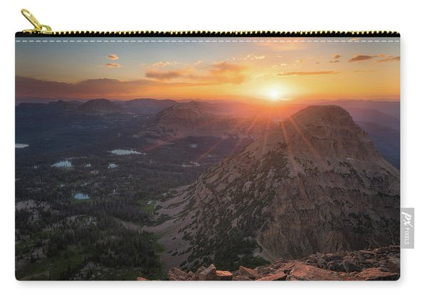 Sunset In The Uinta Mountains Carry-all Pouch