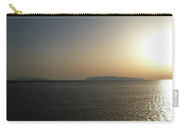 Sunset In Trapani Carry-all Pouch