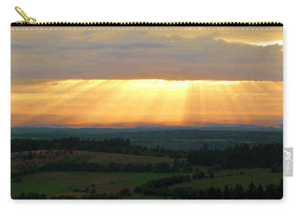 Sunset In Vogelsberg Carry-all Pouch