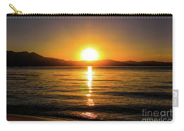 Sunset Lake 1 Carry-all Pouch