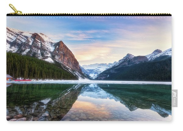 Sunset Lake Louise Carry-all Pouch