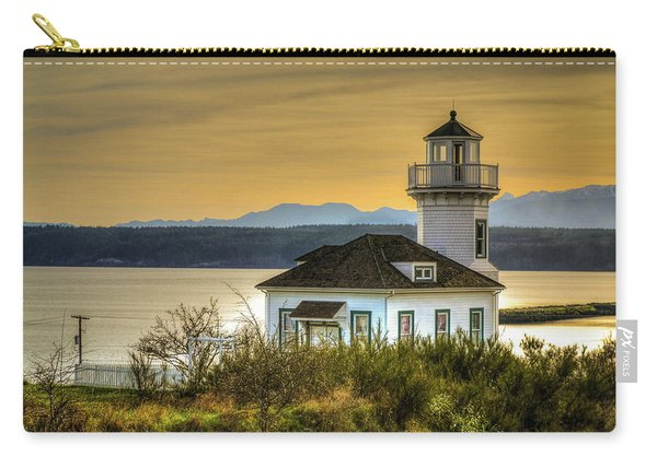 Sunset Light House Carry-all Pouch