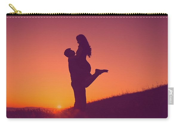 Sunset Love Carry-all Pouch
