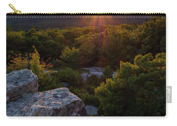 Sunset, Mt. Battie, Camden, Maine 33788-33791 Carry-all Pouch