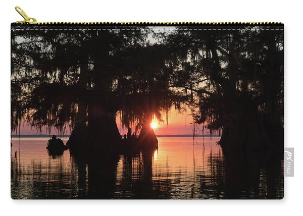 Sunset On A Louisiana Cypress Swamp Carry-all Pouch