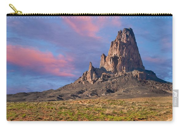 Sunset On Agathla Peak Carry-all Pouch