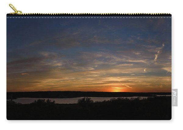 Sunset On Lake Georgetown Carry-all Pouch