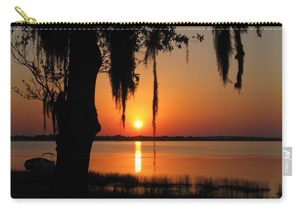 Sunset On Lake Minneola Carry-all Pouch