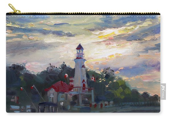 Sunset On Lake Shore Mississauga Carry-all Pouch