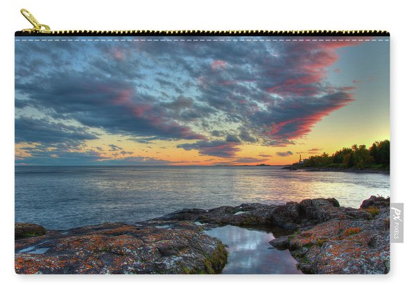 Sunset On Lake Superior Carry-all Pouch