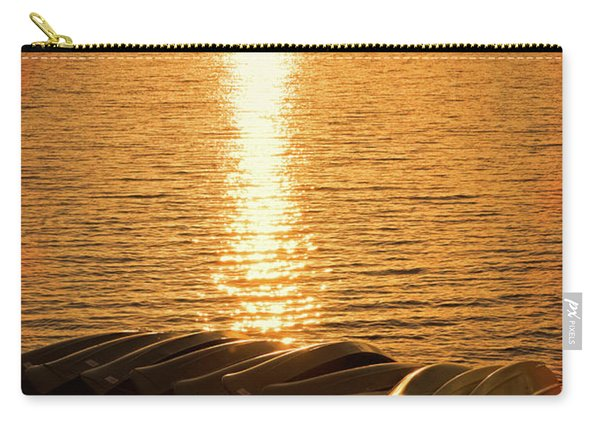 Sunset On Quinault Carry-all Pouch