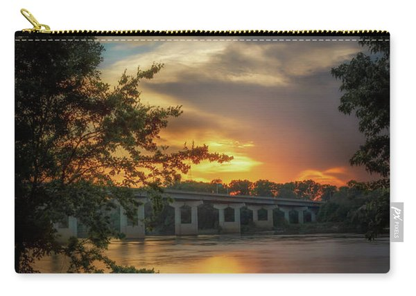 Sunset On The Arkansas Carry-all Pouch