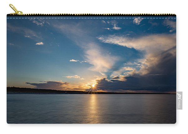 Sunset On The Baltic Sea Carry-all Pouch