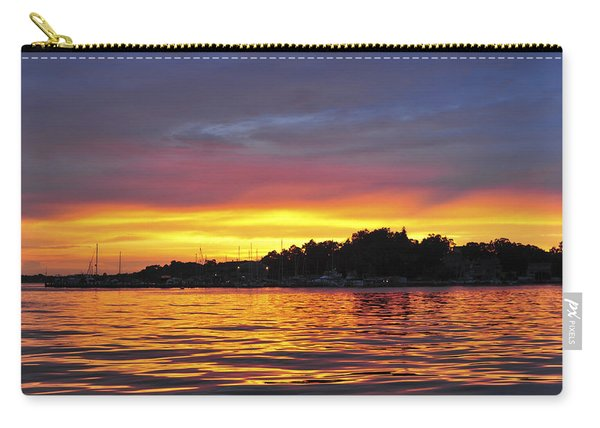 Sunset On The Bay Island Heights Nj Carry-all Pouch
