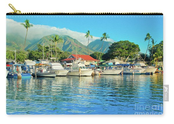Sunset On The Marina Lahaina Harbour Maui Hawaii Carry-all Pouch