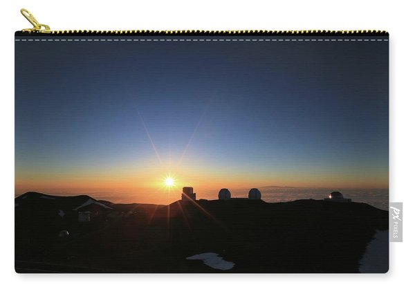 Sunset On The Mauna Kea Observatories Carry-all Pouch