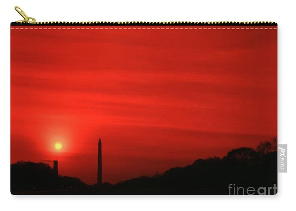 Sunset On The National Mall Washington Dc Carry-all Pouch