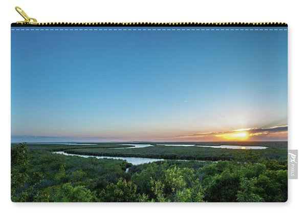 Sunset On The Outer Banks Carry-all Pouch