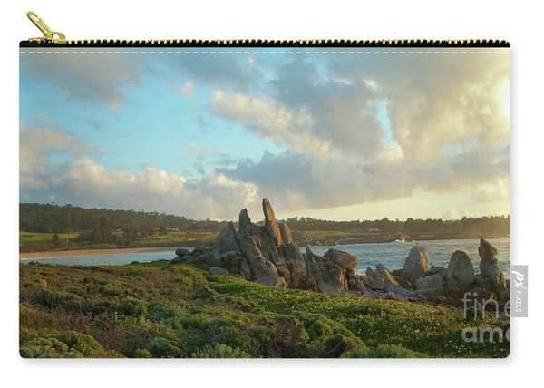 Sunset On The Pacific Ocean  Carry-all Pouch