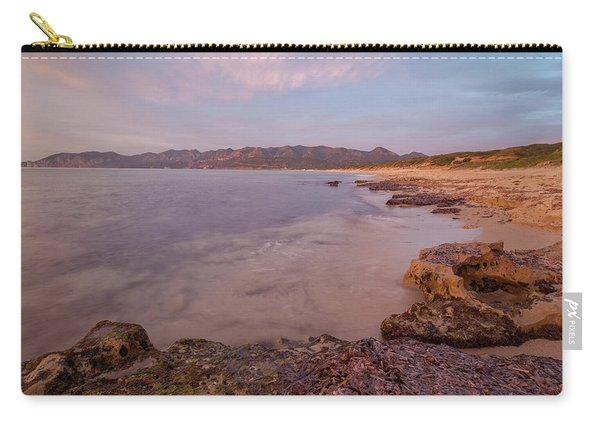 Sunset On The Sea Carry-all Pouch