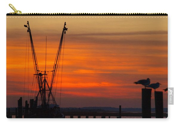 Sunset On The Water Carry-all Pouch