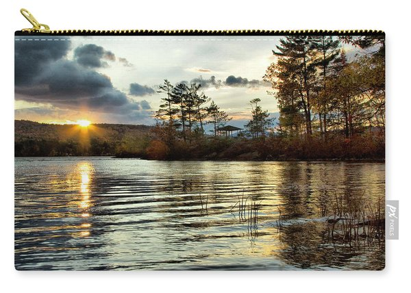 Sunset On Webster Lake  Carry-all Pouch